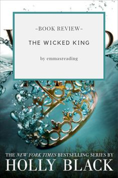 """Wicked King -Holly Black """"The first lesson is to make yourself strong. After the jaw-dropping revelation that Oak is the heir to Faerie, Jude must keep her younger brother safe. Ed King, Holly Black, Betrayal, Book Reviews, Faeries, Book 1, Love Her, My Books, Wicked"""