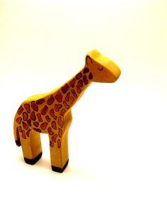 wooden toy giraffe-12.00