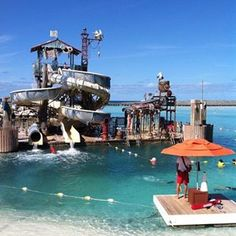 Castaway Cay in the Bahamas is the Disney Cruise Line private island Play in the cool caribbean waters all day Photo credit TMOM traveljenn
