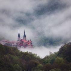 "Rise Up  Location: Covadonga Sanctuary Picos de Europa NP Spain ================================= Rise Up  The title comes from my favourite song of 2015 Rise Up with Andra Day (@andradaymusic). By the way her debut album ""Cheers To The Fall"" is amazing.  Me and @rafairusta were on our way down from a terrible sunrise in the Picos de Europa National Park. When we stopped to grab a few shots of the valley below covered in fog we were lucky to get a glimpse of this beautiful looking sanctuary…"