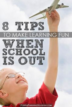 Making #learning fun when #school's out!