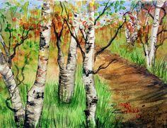 Birch Tree Paintin'