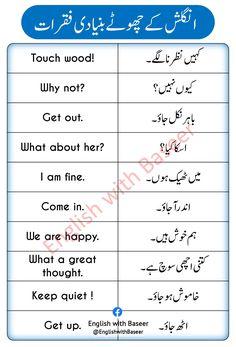 English Learning Books, English Speaking Practice, English Language Learning, Learn English Words, Teaching English, English Vocabulary Words, English Phrases, English Grammar, Basic English Sentences