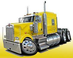 Cartoon Drawings of Semi Trucks | 374703096_tp.jpg