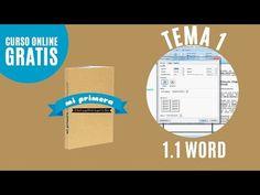 Imprimir libro en word | Tema 1.1 | Mi primera encuadernación - YouTube
