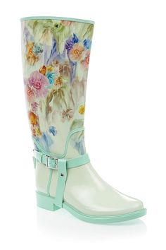 Atiri Floral Rain Boot by Ted Baker London on @nordstrom_rack