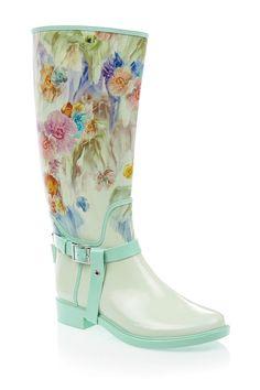 Atiri Floral Rain Boot