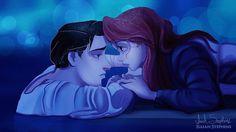 """Así lucen los personajes de Disney como protagonistas de """"Titanic"""". ¡No puedo con Bella!"""