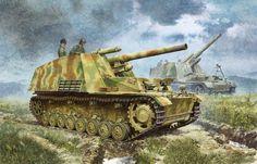 DML6321 1:35 Dragon SdKfz 165 Hummel Late Tank