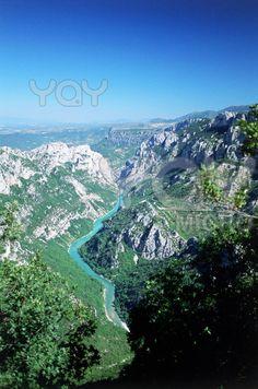 Gorges de Verdon, Alpes de Haute Provence - France