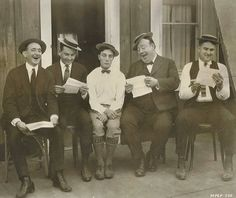 The question is: can they make Buster Keaton laugh? Buster Keaton, 1923