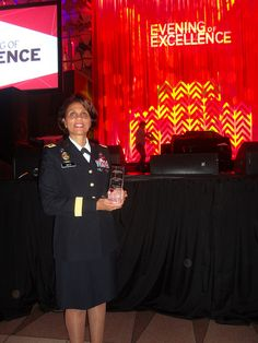 Sept. 2013 Maj. Gen. Nadja West was honored with the Armed Forces Medical Advocate Award from Essence Magazine and Southern Company in Washington, DC.