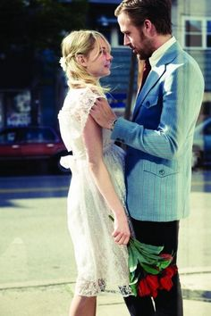 Blue Valentine. I'm in love with her wedding dress.  SO cute for eloping