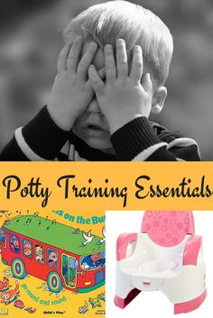 Here is a list of must have items that will help you make potty training your little one a lot easier.
