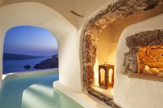 River Pool Suite Caldera Sea View - Canaves Oia Hotel & Suites | Luxury Hotel Santorini Island Greece | Book Online