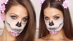 makeup skull - YouTube