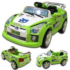 NISSAN GTR Style Kids Ride on 6v Electric Battery Powered Childrens Toy Car RC