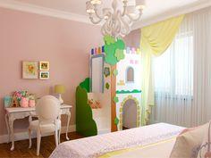 Детская комната. Дизайн квартиры для семьи с двумя детьми в ЖК «Новая История»