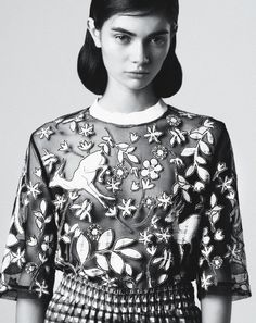 Antonina Vasylchenko by Toby Knott for Tank S/S 2013