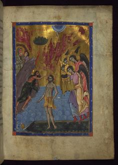 Baptism of the Lord  Whispers of an Immortalist: Books and Manuscripts 1