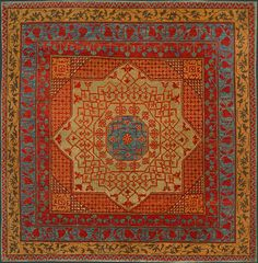 Turkish Rugs | Turkish Mamluk Oriental Rug #36173