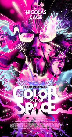 Trailers, clip, featurette, images and posters for the sci-fi horror film COLOR OUT OF SPACE starring Nicolas Cage and Joely Richardson. Nicolas Cage, Hp Lovecraft, Jean Reno, Sean Harris, Thomas Jane, Best Horror Movies, Good Movies, Randy Wayne, Sci Fi Movies
