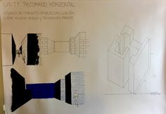 U1/T1 croquis y axonométrica taller Manzi
