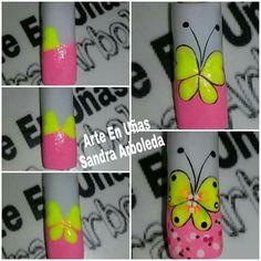 Nail Art Videos, Pedicure, Thalia, Nails, Designed Nails, Fairy, Sun, Templates, Pretty Toe Nails