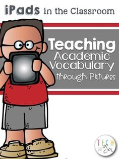 Direct teaching of vocabulary can help improve comprehension only when taught in meaningful context. The activities in this document will allow students to relate the new vocabulary they are learning to their background knowledge and to linguistic and nonlinguistic representations through the use of technology.