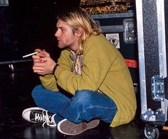 Kurt Cobain. So dreamy.