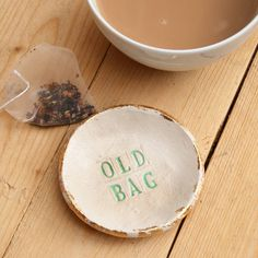 Are you interested in our tea bag holder? With our tea bag saucer you need look no further.