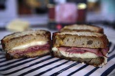 Emma's recipe for her Croque Monsieur Kefir, Prosciutto, Ribs, Ham, Bacon, Sandwiches, Pork, Vegetarian, Cheese