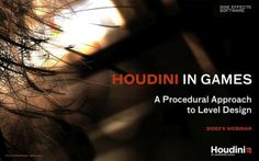 Modern game engines are capable of handling more high quality assets than ever before which can stretch a game studio's resources to the max. Learn how you can create more game art and work more efficiently by going procedural with Houdini.