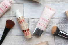 Bourjois Foundations: Healthy Mix vs City Radiance