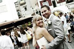 Church Wedding, Wedding Ceremony, Capri Italy, Beautiful Islands, Destination Wedding, Wedding Photography, Couple Photos, Celebrities, Wedding Shot