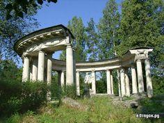 Colonnade d'Apollon - Pavlovsk - Construite en 1782-1783 par Charles Cameron