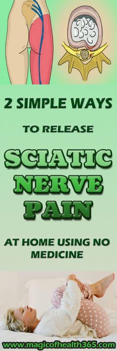 2 Simple Ways To Release Sciatic Nerve Pain At Home Using No Medicine