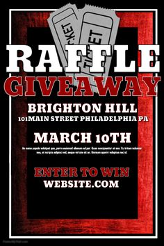 Raffle poster   Layout Concepts   Pinterest   Trivia, Bowling and ...