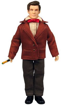 Doctor Who 11th Doctor 8-Inch Action Figure- WHY IS HE PROPORTIONED LIKE A NORMAL MAN