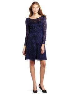 Amazon.com: Frock! by Tracy Reese Women's Jade Long Sleeve Scattered Dots Dress: Clothing