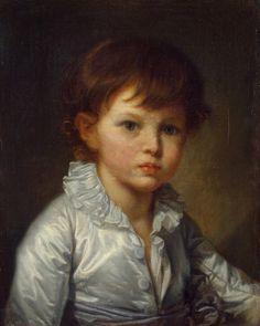 Грёз, Жан-Батист - Портрет графа П. А. Строганова в детстве