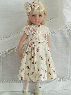 "13"" Effner Little Darling BJD Fashion Shabby Roses Set OOAK Handmade by JEC | eBay. Ends 6/8/14."
