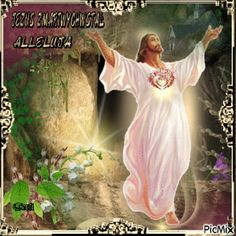Peace Pictures, Light Blue Roses, Pictures Of Jesus Christ, Jesus Resurrection, Jesus Loves You, Blessed Mother, Photos, Painting, Jesus Pictures