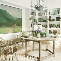 Spring Greening with MILIEU-MAG.COM  @milieumag  #MILIEU! Fresh interiors by Style Director @shannonbowersdesigns shot by @vitalephoto #welovegreen