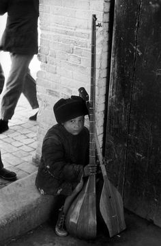 Hiroshi Hamaya - Urumchi, Hsinchiang, China. 1956. S) - He is committed to protecting his Gift of Music...