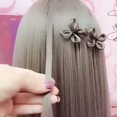 Beautiful Hair DIY! 😍 #wedding #bride #love #women #instagood #izmir #türkiye #fashion #instagram #weddinghairstyle  #hair #hairstyle #longhair #haircolor Easy Hairstyles For Medium Hair, Pretty Hairstyles, Medium Hair Styles, Natural Hair Styles, Diy Hairstyles, Curly Hair Styles, Hair Designs, Healthy Hair, Love Hair