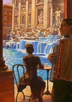 Miles Hyman / Rome