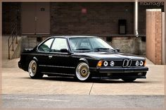 BMW 635CSi by Mike Burroughs