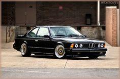 BMW 635CSi by Mike Burroughs