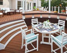 Home Decor Traditional Deck.